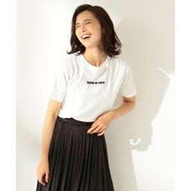 【洗える】フロッキーロゴ Tシャツ/エニィファム Lサイズ(any FAM L)