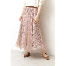 《EDIT COLOGNE》チュールレーススカート/プロポーションボディドレッシング(PROPORTION BODY DRESSING)