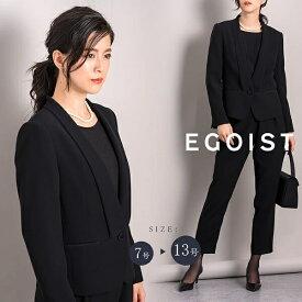 【EGOIST】【ブラックフォーマル】スタイリッシュなタキシードカラージャケット/レディース/喪服 /EGOIST (ラブリークィーン)