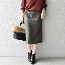 【手洗い可能】ポケットタイトスカート◇/シップス(レディース)(SHIPS for women)