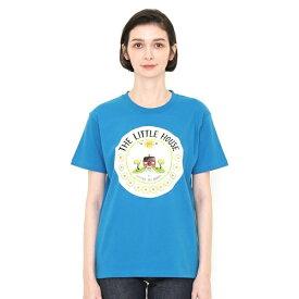 【ユニセックス】コラボTシャツ/ちいさいおうち(ヴァージニアリーバートン)/グラニフ(graniph)