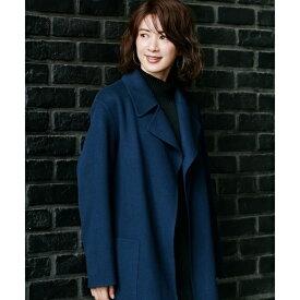 【mi−mollet掲載】Wool Rever トレンチ型コート/アイシービー(ICB)