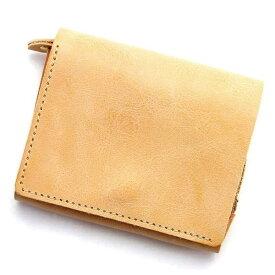 モワティエ/シビラ(ベージュ)【二つ折り財布 フラップ】/アジリティーアッファ(AGILITY Affa)