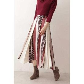 《EDIT COLOGNE》ヴィンテージスカーフプリントスカート/プロポーションボディドレッシング(PROPORTION BODY DRESSING)