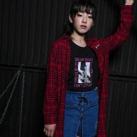転写プリントTシャツ/ジディ(ZIDDY)