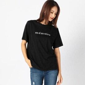 memoireロゴTシャツ/アンレリッシュ(UNRELISH)