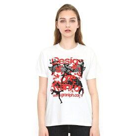 【ユニセックス】コラボレーションTシャツ/ショッカータテロゴ(仮面ライダー)/グラニフ(graniph)