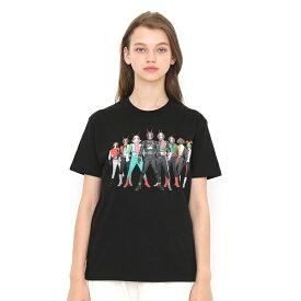 【ユニセックス】コラボレーションTシャツ/仮面ライダー集合(仮面ライダー)/グラニフ(graniph)