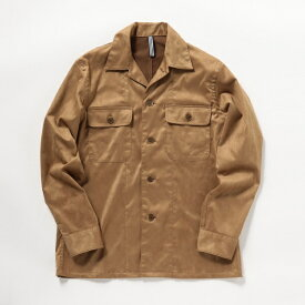 フェイクスエードシャツジャケット/ノーリーズ メンズ(NOLLEY'S)