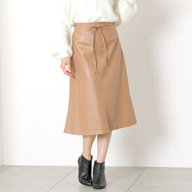合皮セミフレアスカート/ミューズ リファインド クローズ(MEW'S REFINED CLOTHES)