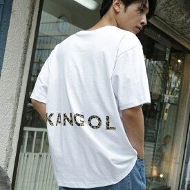 【01(S)WEB限定サイズ】KANGOL別注バックプリントTシャツ/ザ ショップ ティーケー(メンズ)(THE SHOP TK Mens)