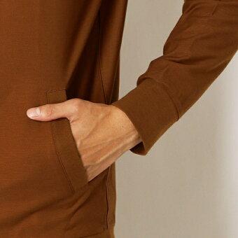 リブ襟フルジップカーディガン/アーノルドパーマータイムレス(メンズ)(arnoldpalmertimeless)