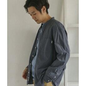 メンズシャツ(GYMPHLEX 2COLOR バンドカラーシャツ)/アーバンリサーチ ドアーズ(メンズ)(URBAN RESEARCH DOORS)