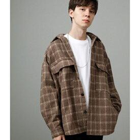 【WEB別注】ビッグチェックシャツ/ジュンレッド(JUNRed)