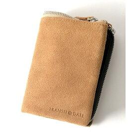 TransitGate G5 スエード二つ折り財布/トランジットゲート
