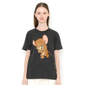 【ユニセックス】コラボレーションTシャツ/ラフィングジェリー(トムとジェリー)/グラニフ(graniph)