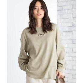 ボリュームワッフルTシャツ/ウィゴー(レディース)(WEGO)