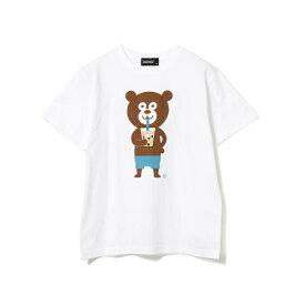 The Wonderful! design works / タピオカ Bear Tee/ビームス(BEAMS)