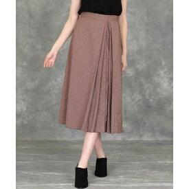 《大きいサイズ》クラシックプリーツスカート 《Maglie par ef-de》/ef-de L(エフデ)(ef-deL)