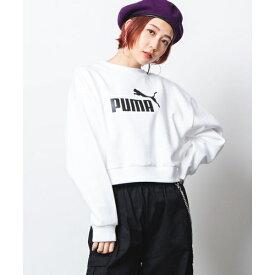 PUMA別注ロゴプルオーバー/ウィゴー(レディース)(WEGO)