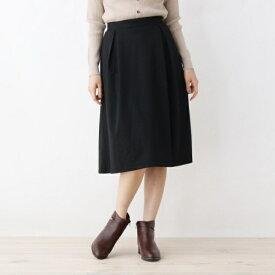 【LLあり】ポンチ裏起毛スカート/グローブ(grove)