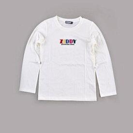 レインボーロゴTシャツ/ジディ(ZIDDY)