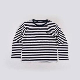 スクールボーダーTシャツ/ジディ(ZIDDY)