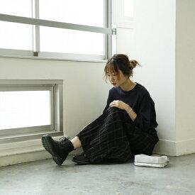【ムック本掲載】クリンクルプリーツチェックスカート/コーエン(レディース)(coen)
