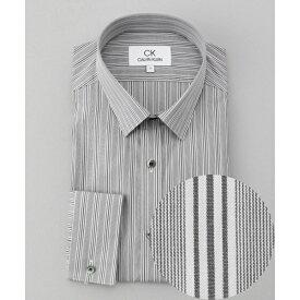 コンパクトタイプライター ストライプ シャツ / レギュラーカラー/カルバン・クライン メン(Calvin Klein men)