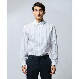【ロゴ】ロゴジャカードストライプ シャツ/カルバン・クライン メン(Calvin Klein men)