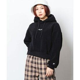 FILA別注ボアフリースプルパーカ/ウィゴー(レディース)(WEGO)