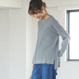 【デオドラント】コットンハニカムメッシュプルオーバー/コーエン(レディース)(coen)