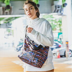 EASY CARRY TOTE/グラフィティチェック/レスポートサック(LeSportsac)