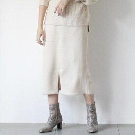 サイドリブニットタイトスカート/アンレリッシュ(UNRELISH)