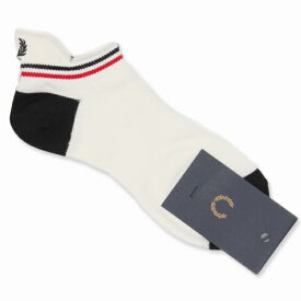 【S20】TIPPED RIB ANKLE SOCKS/フレッドペリー(雑貨)(FRED PERRY)