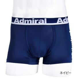 メンズ Admiral(アドミラル) サイドロゴ ボクサーブリーフ 前閉じ/福助(メンズ)(FUKUSKE MEN'S)