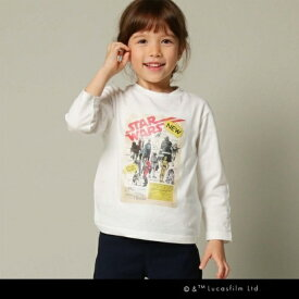 STAR WARS(スター・ウォーズ)【100〜150cm】ロングTシャツ/ザ ショップ ティーケー(キッズ)(THE SHOP TK Kids)
