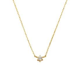 VI(ヴイアイ) K18YGダイヤモンド一石ネックレス(0.06ct)/VA ヴァンドーム青山(VAvendomeaoyama)