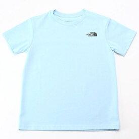 【THE NORTH FACE】Tシャツ(キッズ ショートスリーブスクエアロゴティー)/ザ・ノース・フェイス(THE NORTH FACE)