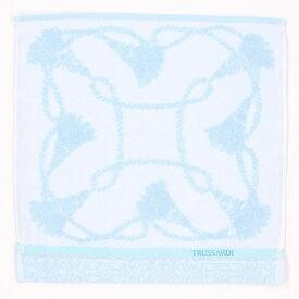 【約28×28cm】タオルハンカチ(レディース)/トラサルディ(TRUSSARDI/雑貨)