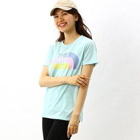 【THE NORTH FACE】Tシャツ(レディース ショートスリーブカラフルロゴティー)/ザ・ノース・フェイス(THE NORTH FACE)