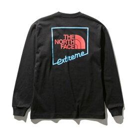 【THE NORTH FACE】Tシャツ(メンズ ロングスリーブエクストリームティー)/ザ・ノース・フェイス(THE NORTH FACE)