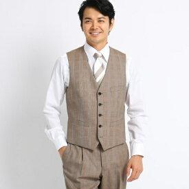 グレンチェックスーツ Fabric by DORMEUIL/タケオキクチ(TAKEO KIKUCHI)