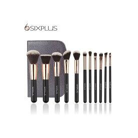 【公式】SIXPLUS人気NO.1 貴族のゴールドメイクブラシ11本セット/シックスプラス(SIXPLUS)