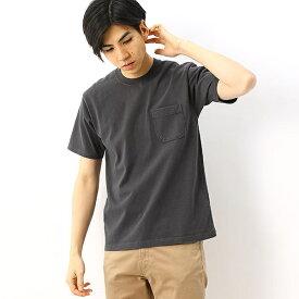 【THE NORTH FACE】Tシャツ(メンズ SSガーメントダイヘビーコットンT)/ザ・ノース・フェイス(THE NORTH FACE)