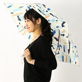 折りたたみ雨傘/55cm/ジルスチュアート(オーロラ)(JILL STUART)
