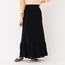 GANNI ドットメッシュスカート/アクアガール(aquagirl)