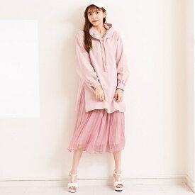 【WEB限定】スカートセット裏毛ワンピース/ティティ-アンドコー(titty & Co.)