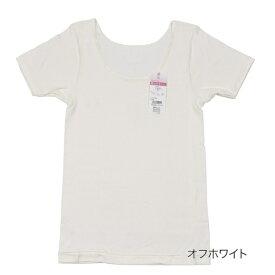 レディース 満足 【贅沢ピマ綿100%+保湿】 3分袖 シャツ/福助(FUKUSKE)