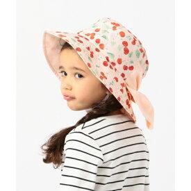 【50−56cm】まとめられる日よけ付きでUVケア◎ あご紐付き帽子/エニィファム キッズ(any FAM KIDS)